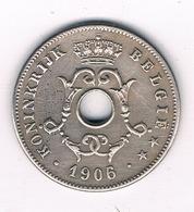 10 CENTIMES 1906 VL  BELGIE /8343/ - 1865-1909: Leopold II