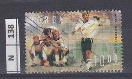 NORVEGIA   2002Eventi Di Calcio 10 K Usato - Norvegia