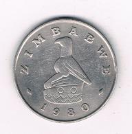 ONE DOLLAR 1980 ZIMBABWE /8346/ - Zimbabwe