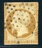 N° 9 10 Ct Bistre Touché. Cote 850 €. - 1852 Luigi-Napoleone