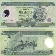 SolomonIslands 2 Dollars Commemorative 2001 P-23 UNC - Salomons
