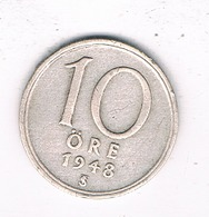 10 ORE  1948  ZWEDEN /8349/ - Suède