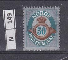 NORVEGIA   2011Ovale E Numero 50 Usato - Norvegia