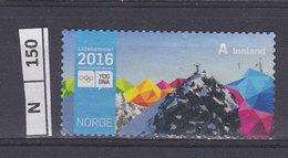 NORVEGIA   2016Olimpiadi Invernali Usato - Norvegia