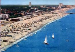 Cervia - Milano Marittima - Ravenna - La Spiaggia Dall'aereo - 115 - Formato Grande Viaggiata – E 9 - Ravenna