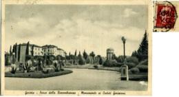 GORIZIA  Parco Della Rimembranza  Monumento Ai Caduti Goriziani  Francobollo AMG VG  2 L. - Gorizia