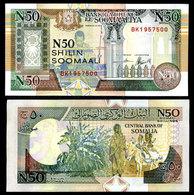 Somalia 50 Shilling 1991 PR2 UNC - Somalie