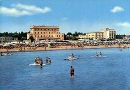 Cervia - Ravenna - Spiaggia Dal Mare - Formato Grande Viaggiata – E 9 - Ravenna