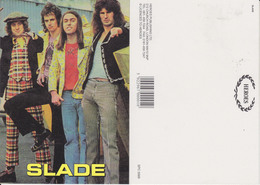 Slade Rock Band Original Postcard In Near Mint Condition, Made In England 007 - Cartes Postales