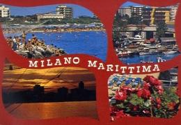 Milano Marittima - Ravenna - Formato Grande Viaggiata – E 9 - Ravenna
