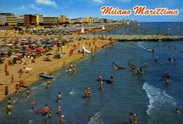 Milano Marittima - Ravenna - La Spiaggia - Formato Grande Non Viaggiata – E 9 - Ravenna