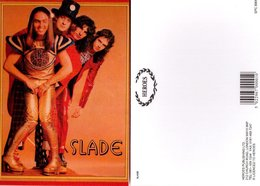 Slade Rock Band Original Postcard In Near Mint Condition, Made In England 009 - Cartes Postales
