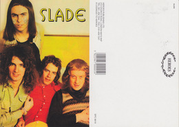 Slade Rock Band Original Postcard In Near Mint Condition, Made In England 010 - Cartes Postales