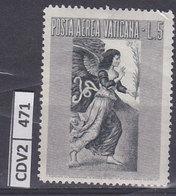 VATICANO 1956, Aerea Arcangelo 5 L Nuovo - Nuovi