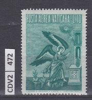 VATICANO 1956, Aerea Arcangelo 10 L Nuovo - Nuovi