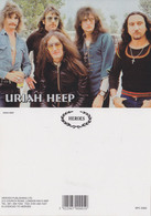 Uriah Heep Rock Band Original Postcard In Near Mint Condition, Made In England 004 - Cartes Postales