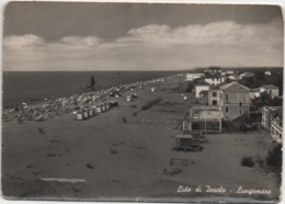Lido Di Jesolo (Venezia): Lungomare. Viaggiata 1954 - Venezia