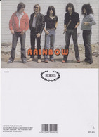 Rainbow Rock Band Original Postcard In Near Mint Condition, Made In England 001 - Cartes Postales