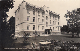 AUSTRIA - Kurstadt Baden Bei Wien 1972 - Haus Elisabeth - Baden Bei Wien