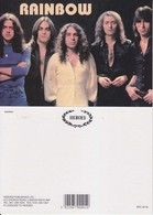 Rainbow Rock Band Original Postcard In Near Mint Condition, Made In England 002 - Cartes Postales