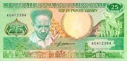 Surinam 25 Gulden 1988 P-42 UNC - Surinam