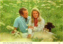CPM HRH Princess Anne&Cpt. Mark Phillips, BRITISH ROYALTY (791862) - Familles Royales