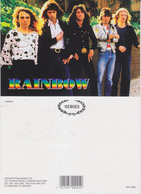 Rainbow Rock Band Original Postcard In Near Mint Condition, Made In England 003 - Cartes Postales
