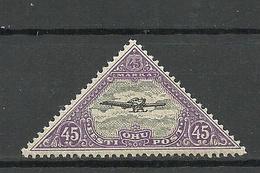 Estland Estonia 1925 Michel 52 A On Rare Ligatne Paper Type * - Estland