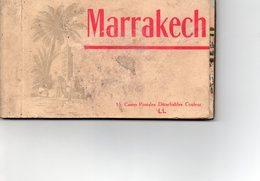 ¤ Marrakech - Carnet De 15 CP (complet) - Marrakech