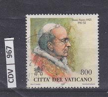VATICANO 2000Papi E Anno Sonto L. 822 Usato Senza Stemma - Vaticano