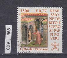 VATICANO    2001Remissione Debito Paesi Poveri, 0,77 Usato - Vaticano