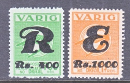 BRAZIL  VARIG V  43-4      * - Airmail (Private Companies)