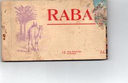 ¤ Rabat - Carnet De 15 CP (complet) - Rabat