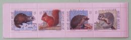 Belgium 1992 Mint Booklet - Animals Squirrel Hedgehog - Belgium