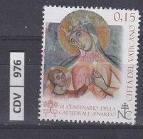 VATICANO   2013Cattedrale S.Maria Di Nardò 0,15 Usato - Vaticano