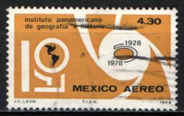 MESSICO - 1978 - ISTITUTO PANAMERICANO DI GEOGRAFIA E DI STORIA - USATO - Messico
