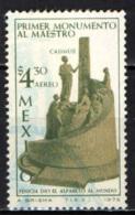 MESSICO - 1975 - PRIMO MONUMENTO AL MAESTRO CADMUS - USATO - Messico