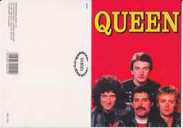 Queen Rock Band Original Postcard In Near Mint Condition, Made In England 001 - Cartes Postales