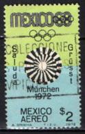 MESSICO - 1972 - OLIMPIADI DI MONACO '72 - USATO - Messico