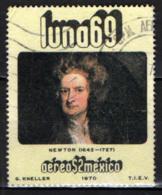 MESSICO - 1971 - ISAAC NEWTON - USATO - Messico