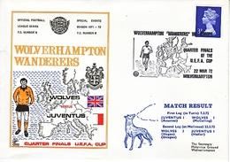 GREAT  BRITIAN  WOLVERHAMPTON  WANDERERS - Famous Clubs