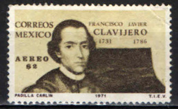 MESSICO - 1971 - FRANCISCO JAVIER CLAVIJERO - USATO - Messico