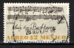 MESSICO - 1970 - ODE ALLA GIOIA - LUDWIG VAN BEETHOVEN - USATO - Messico