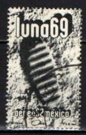 MESSICO - 1969 - IL PRIMO UOMO SULLA LUNA - USATO - Messico