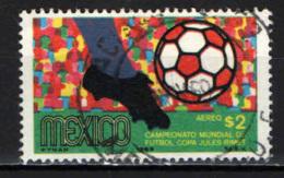 MESSICO - 1969 - CAMPIONATO DEL MONDO DI CALCIO - MESSICO '70 - USATO - Messico