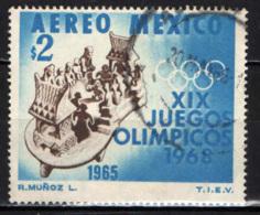 MESSICO - 1968 - OLIMPIADI DI CITTA' DEL MESSICO - USATO - Messico