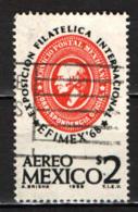 MESSICO - 1968 - EFIMEX '68 - ESPOSIZIONE FILATELICA INTERNAZIONALE - USATO - Messico