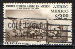 MESSICO - 1967 - PRIMO VIAGGIO POSTALE AEREO DEL MESSICO - USATO - Messico