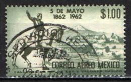 MESSICO - 1962 - BATTAGLIA DI PUEBLA - USATO - Messico