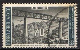 MESSICO - 1961 - APERTURA DELLA STRADA DA CHIHUAHUA ALL'OCEANO PACIFICO - USATO - Messico